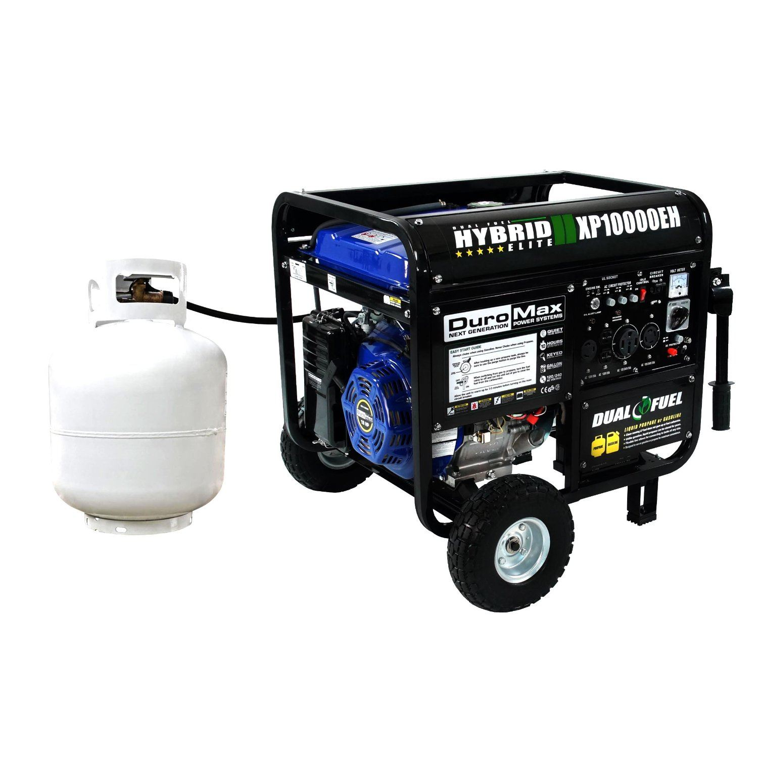 Portable Generator Noise Suppression : Best dual fuel generator reviews the power