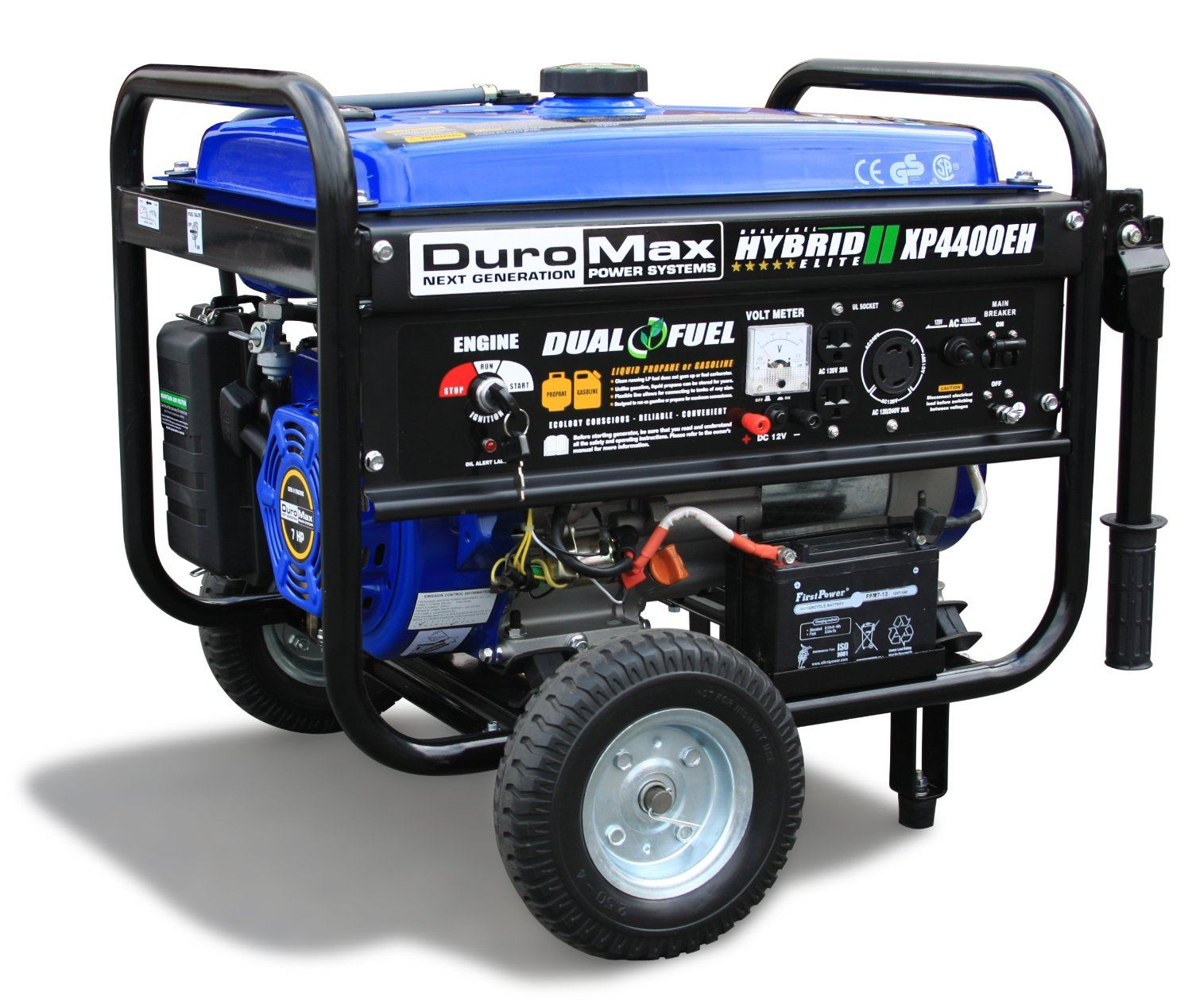 The DuroMax XP4400EH Dual Fuel Portable Generator Review