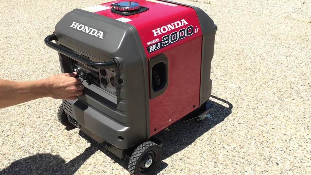 Best 30 Amp Inverter Generator Honda EU3000iS 5