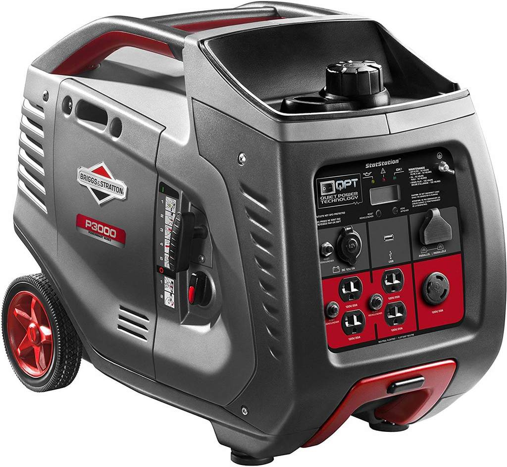 Best 30 Amp Portable Generator Briggs Stratton P3000 Generator 1