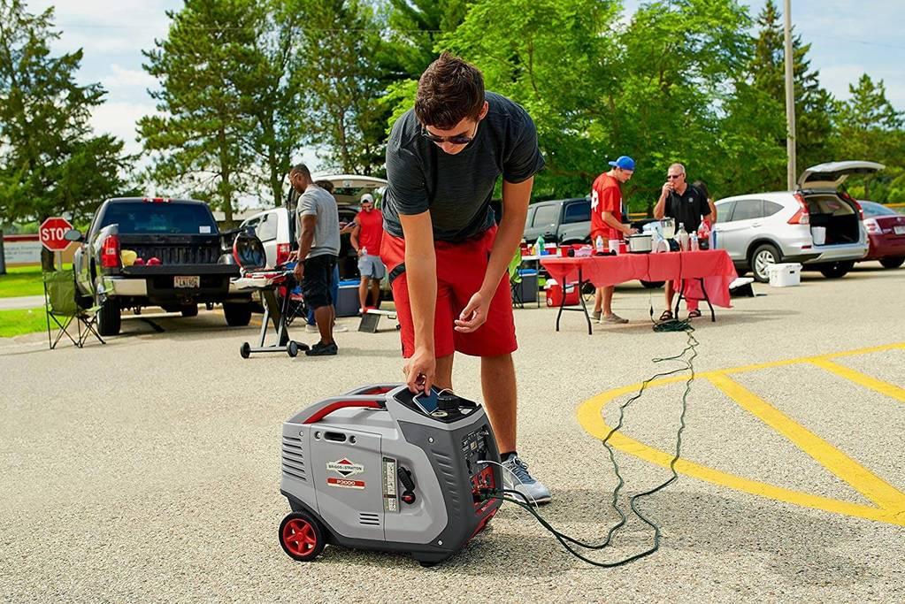 Best 30 Amp Portable Generator Briggs Stratton P3000 Generator 6