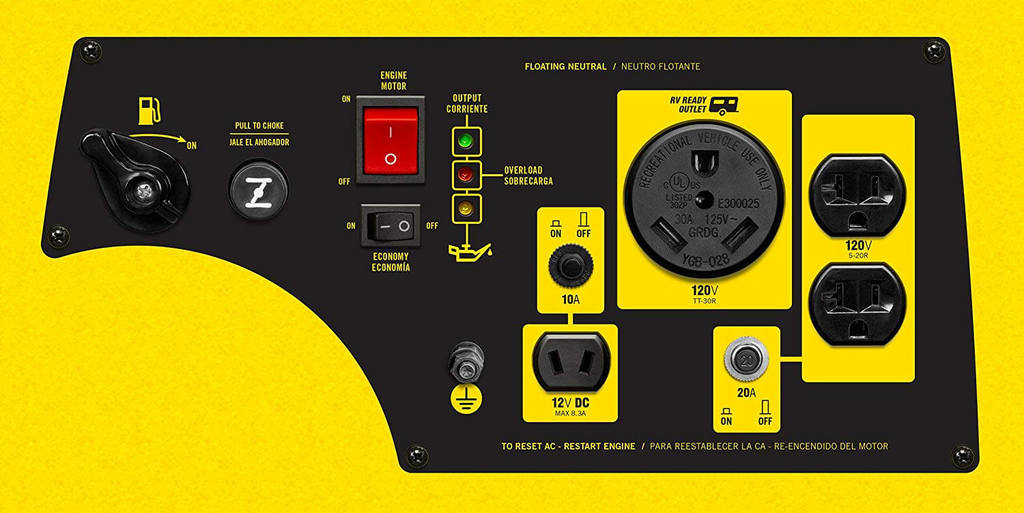 Best Budget 30 Amp Inverter Generator Champion 3100 Watt Inverter Generator 4