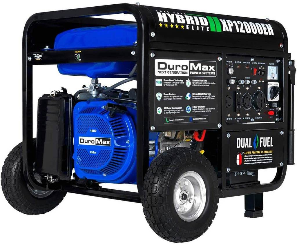 Best Portable Heavy-Duty Powerful Generator - Duromax XP12000EH