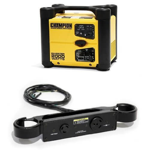 Champion 73536i  2000 watt stackable portable inverter generator