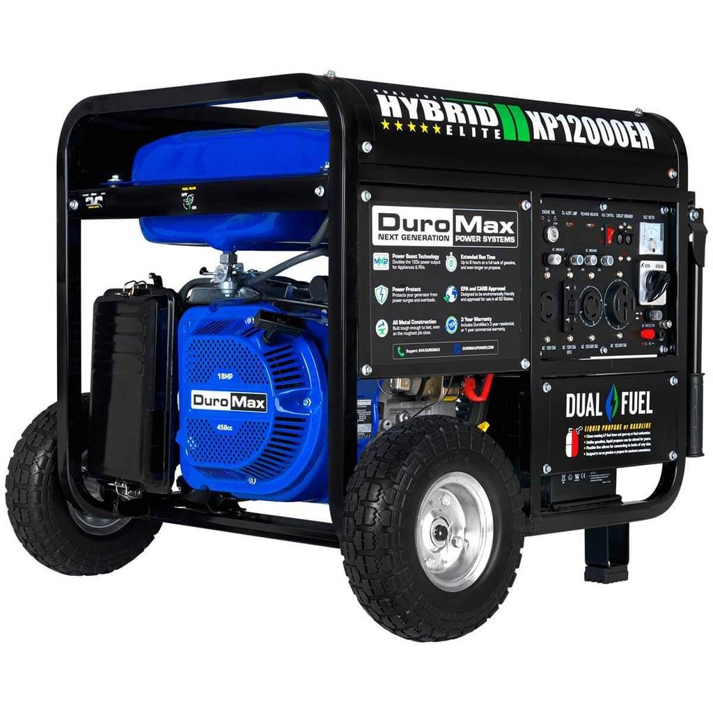 DuroMax XP12000EH Dual Fuel Portable Generator Review 1