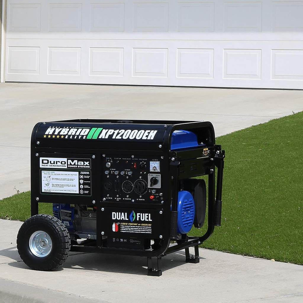 DuroMax XP12000EH Dual Fuel Portable Generator Review 2