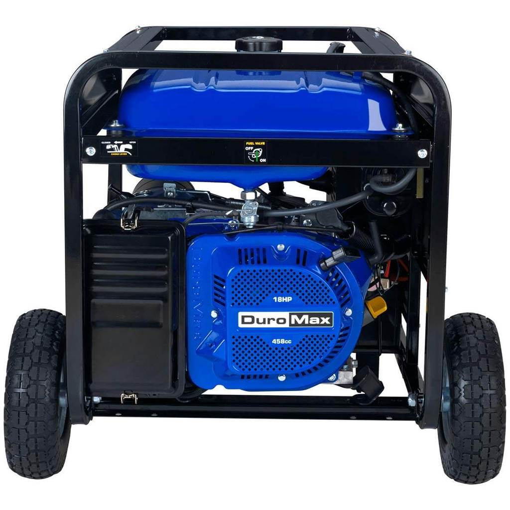 DuroMax XP12000EH Dual Fuel Portable Generator Review 4