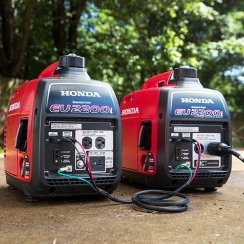 Honda EU2200i 2200 Watt Portable Inverter Generator Review 6