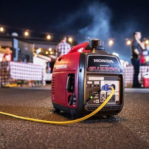 Honda EU2200i 2200 Watt Portable Inverter Generator Review 7