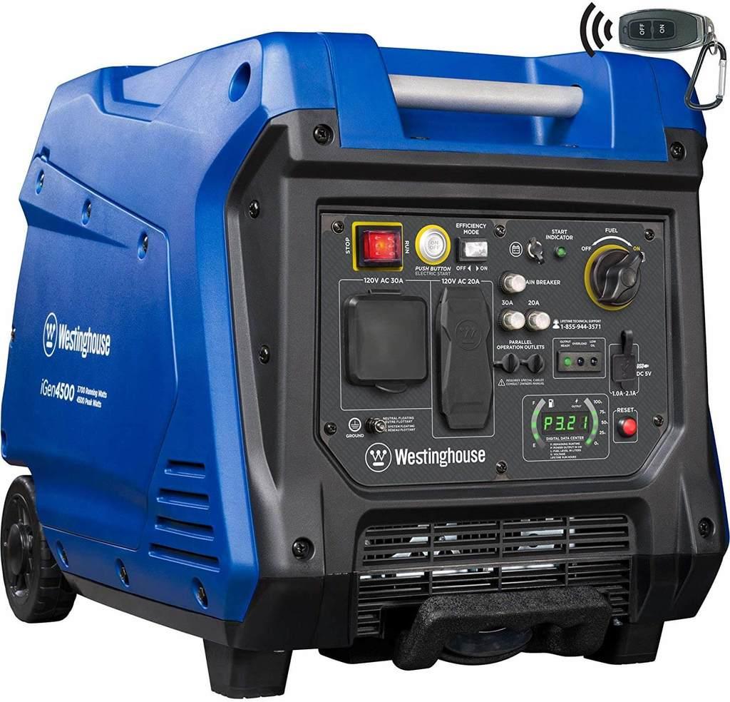 Westinghouse iGen4500 4500 Watt Super Quiet Portable Generator